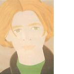 アレックス・カッツ「Homage to Frank O'Hara: William Dunas」