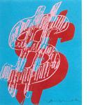 アンディ・ウォーホル「ドル サイン」