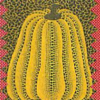 草間彌生「かぼちゃ」(1982)