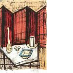 ベルナール・ビュッフェ「茶会:日本への旅より」