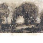ジャン=バティスト・カミーユ・コロー「森の中の女性たち」