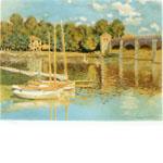 クロード・モネ「アルジャントイユの橋」