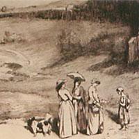 ギュスターヴ・クールベ「村の娘たち」