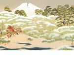 横山大観「霊峰四趣 秋」