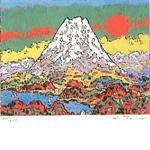 絹谷幸二「20世紀の富士」